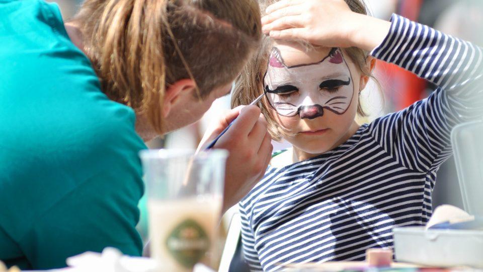 Party Pochoutkového roku na Dolním náměstí v Opavě