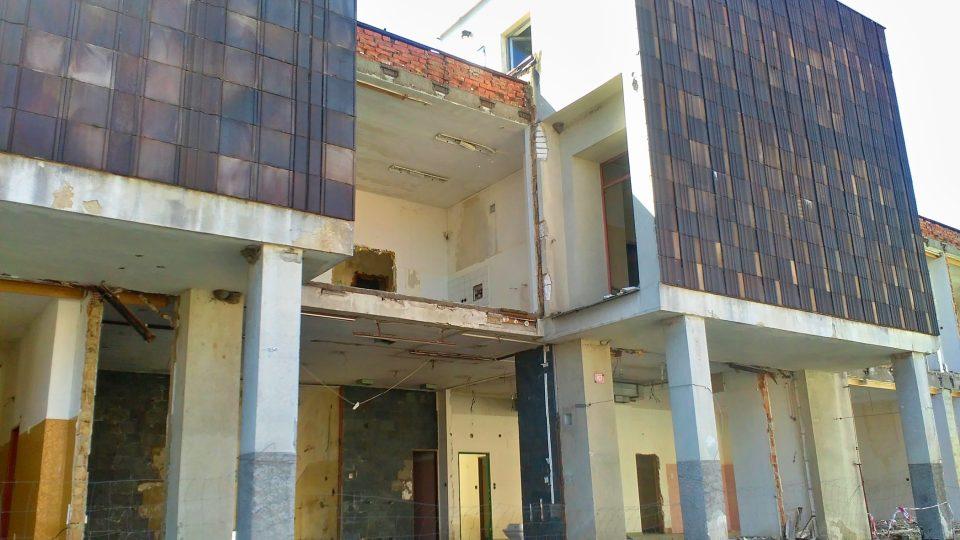 Budova starého zdravotního střediska v Nýrsku