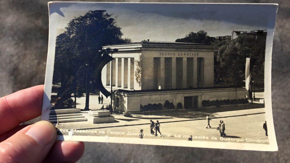Mauzoleum Georgi Dimitrova v Sofii bylo srovnáno se zemí. K vidění je už jen na starých fotografiích