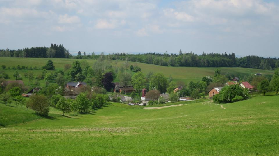 Pohled na Kozlov u České Třebové