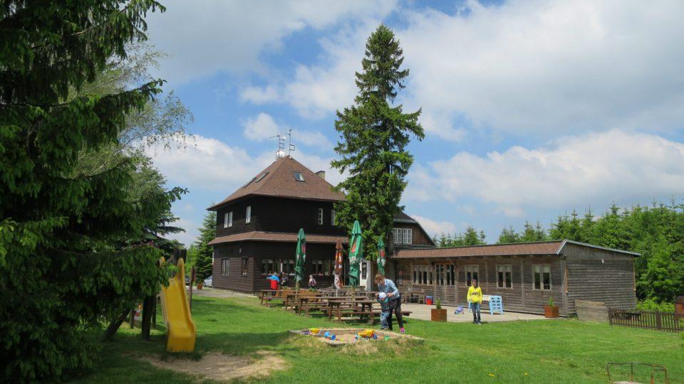 Turistická chata Maxe Švabinského na Kozlovském kopci