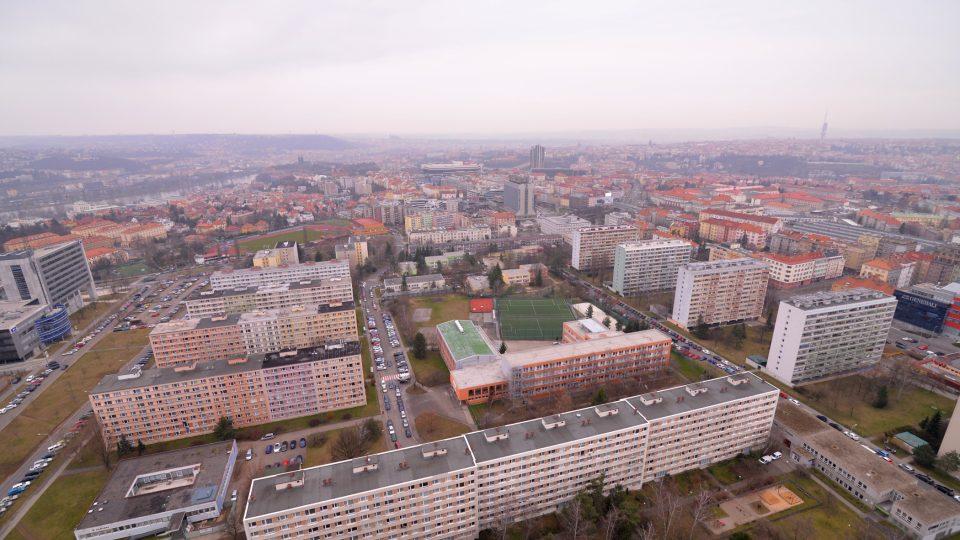 Výhled z 27. patra