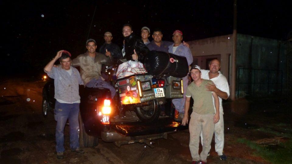S jawou v srdci po jižní Americe: odvoz motorky
