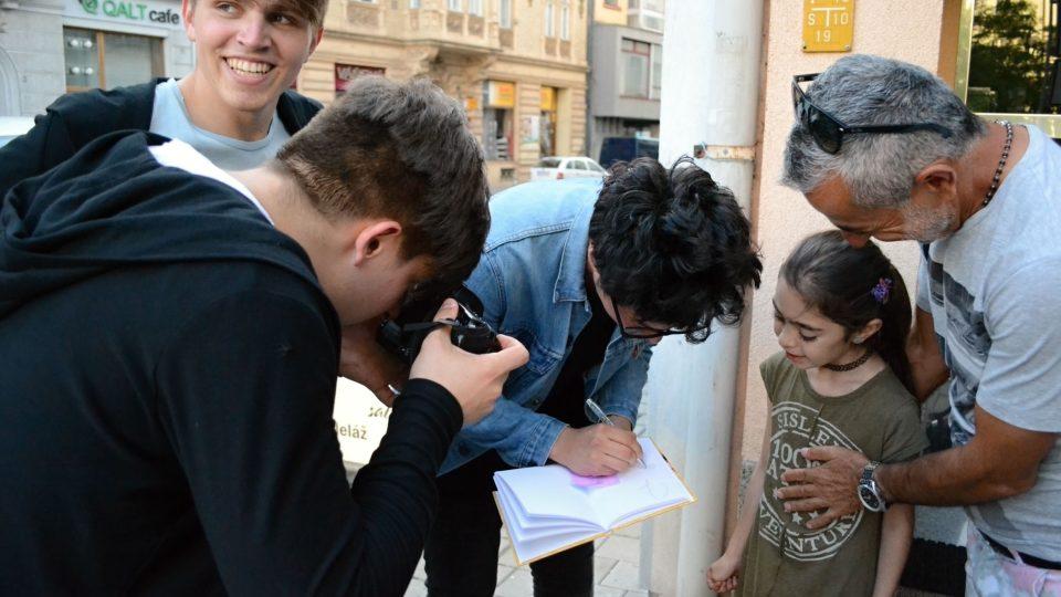 Podpisy do památníčku