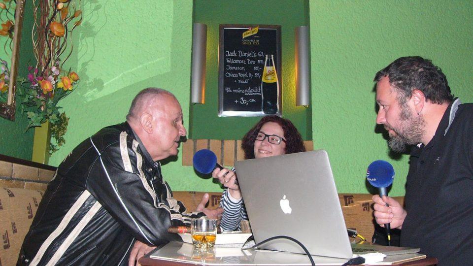 Jožo Ráž v exkluzivním rozhovoru s Lucií a Tomášem Peterkovými