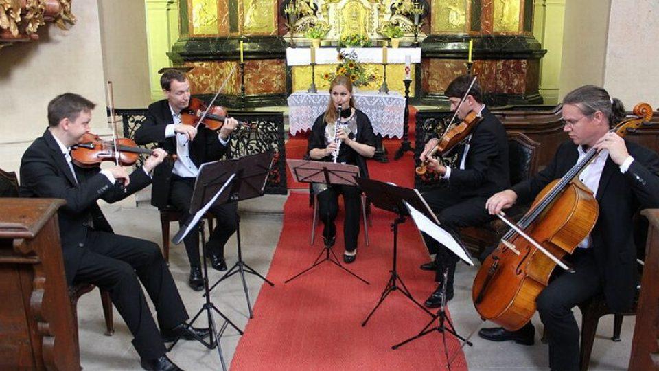 Ludmila Peterková a Bennewitz Quartet na festivalu Hudební léto Kuks