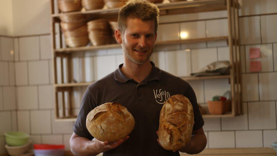 Oldřich Heřman, pekař