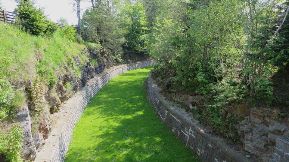 Bezpečnostní kanál hamerské přehrady