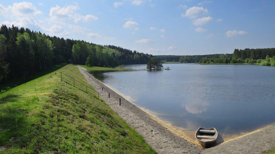 Hamerská přehrada začala vznikat v roce 1907