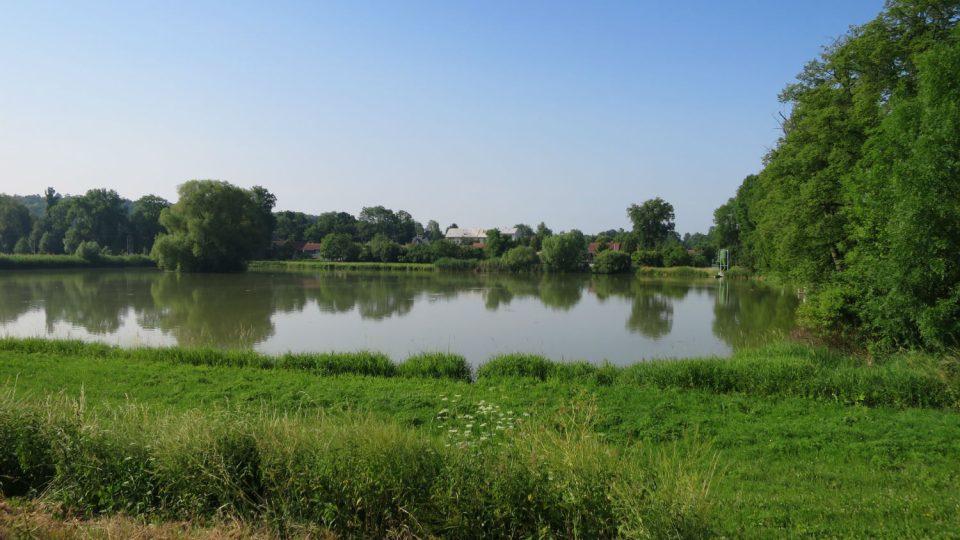 Rybník Borovec v Tržku