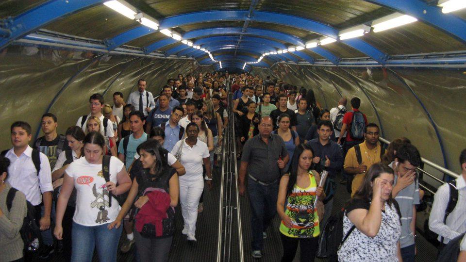 Brazílie; Sao Paulo a všude plno...
