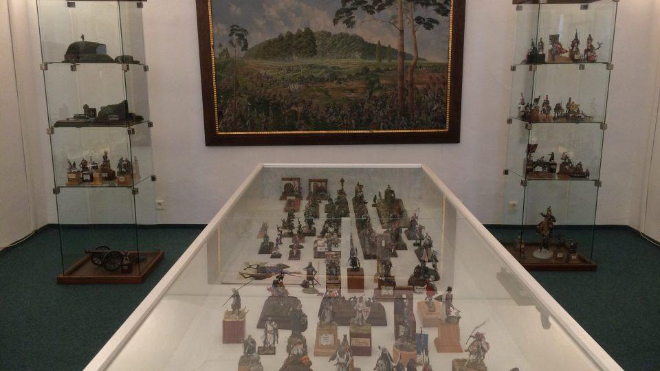 Cínoví vojáčci ze sbírky Zdeňka Klementa