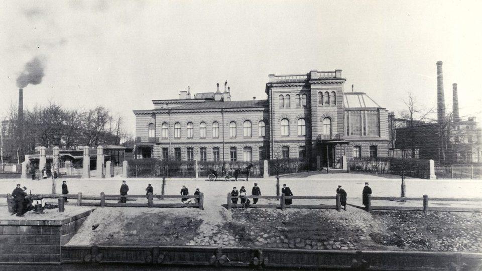 Továrna Ludviga Nobela v Petrohradu