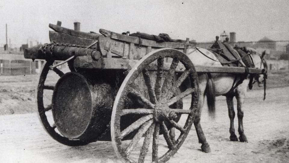 Přeprava ropy v 19. století