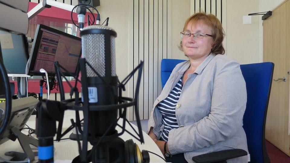 Hana Heinzelová, vedoucí Správy CHKO Broumovsko