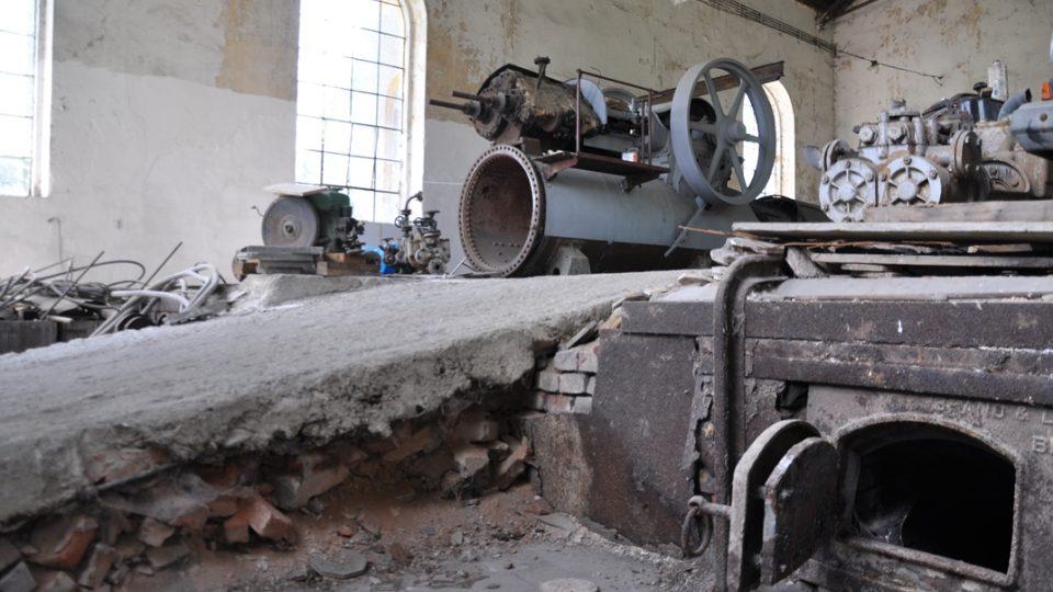 Bývalá parní elektrárna je v rekonstrukci