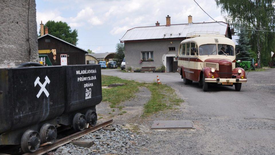 Mladějovské muzeum má spoustu krásných pojízdných exponátů