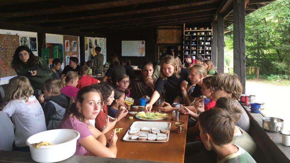 Táborníci u Benešova nad Černou prožívají o prázdninách dobrodružství inspirovaná fantasy světem Warcraft