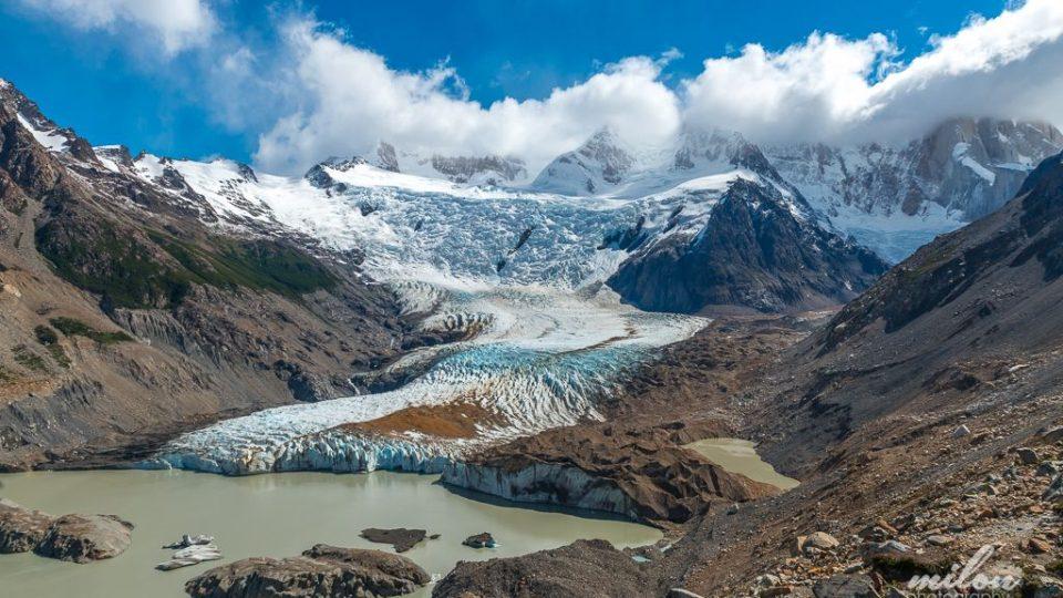 Miloň Kašpar procestoval svět za dva roky. Argentina -Jezero Torre