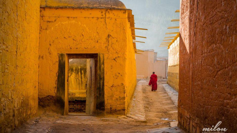 Miloň Kašpar procestoval svět za dva roky. Čína - Klášter Labrang