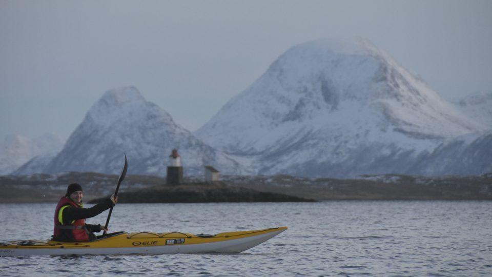 Na kajaku v Norsku