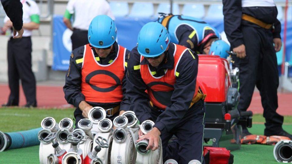 Příprava družstva před tréninkovým pokusem