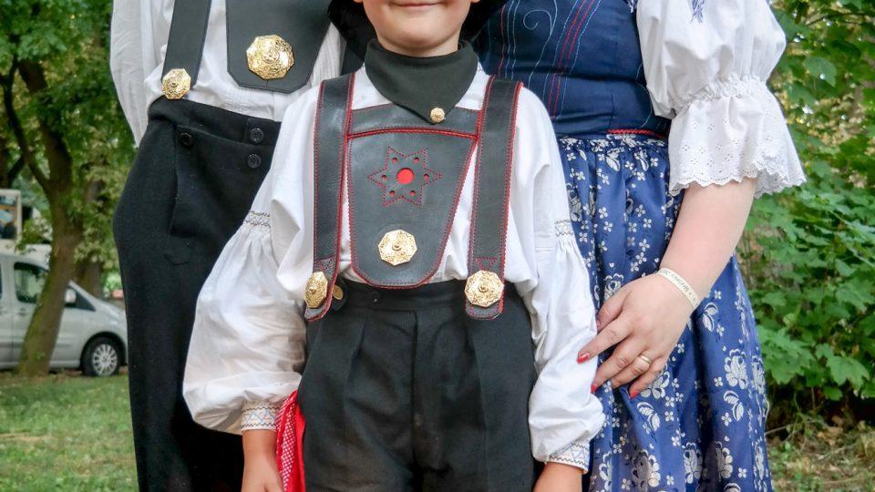 Die zweite und dritte Generation: Richard Šulko, Jr. Mit Sohn Richard V.