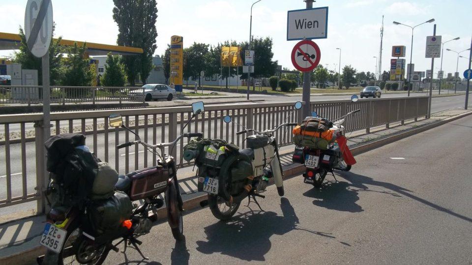 S Jawou na cestách - Vídeň