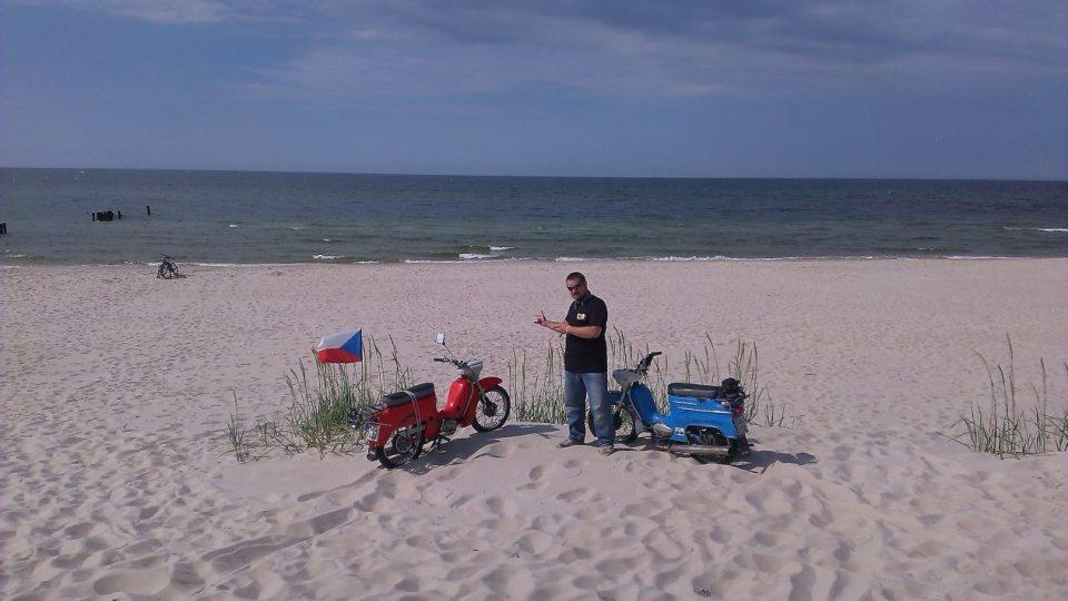 S Jawou na cestách - na pobřeží Baltu