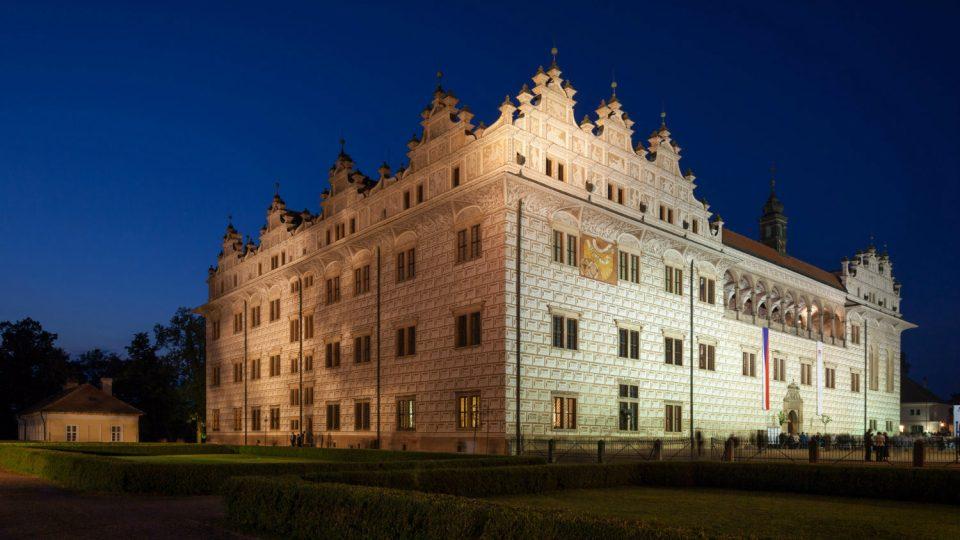 Renesanční zámek v Litomyšli