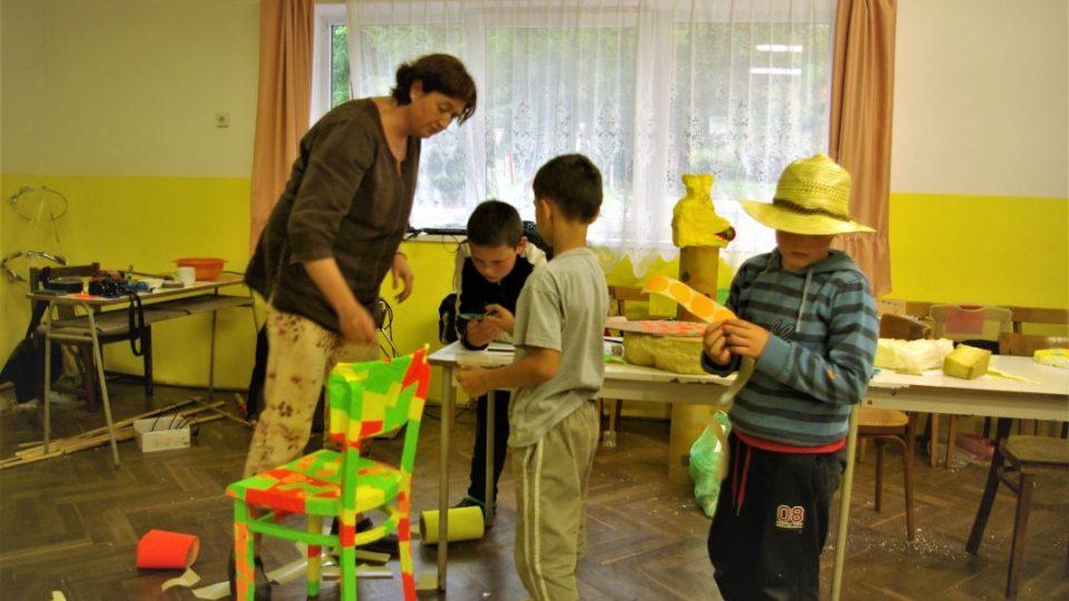 Výtvarná dílna v Roškopově