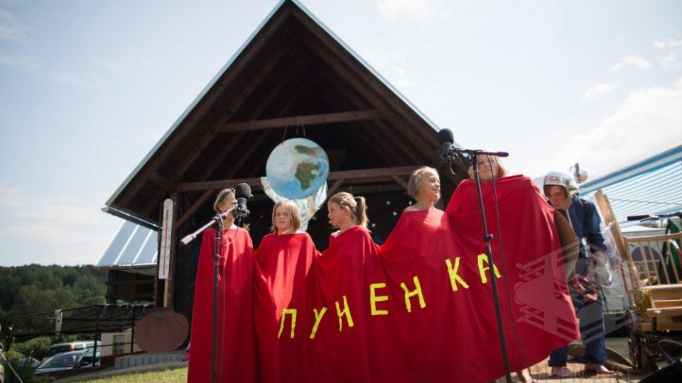 Závěrečné představení muzikálové dílny v Roškopově