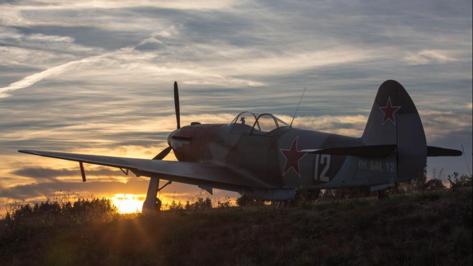 Ladislav Ábel si postavil repliku ruské stíhačky Jak-3