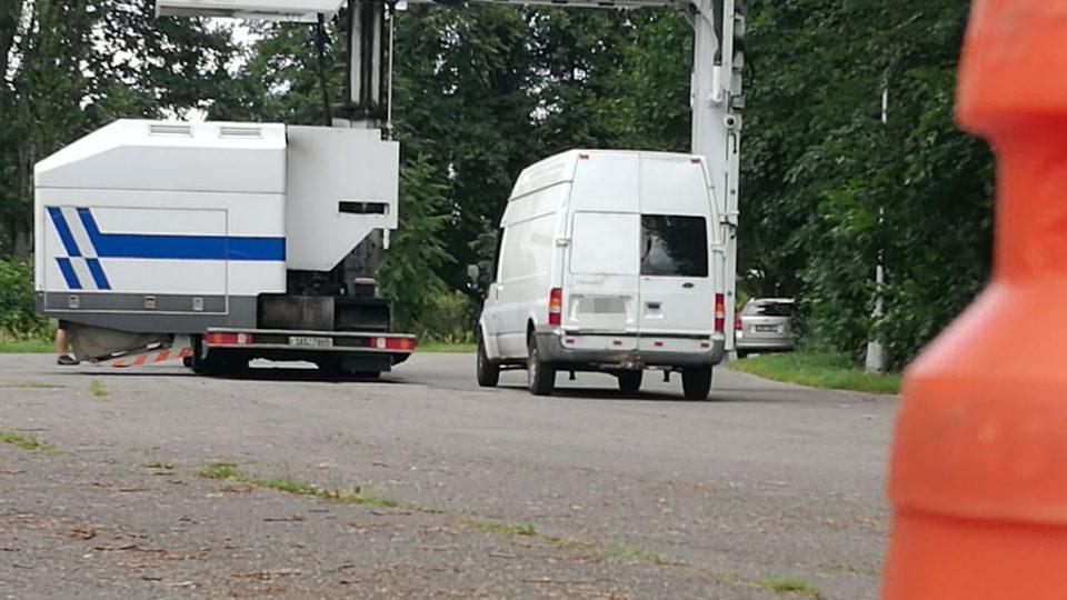 V Hradci Králové se celníci a policisté zaměřili na kontrolu kamionů