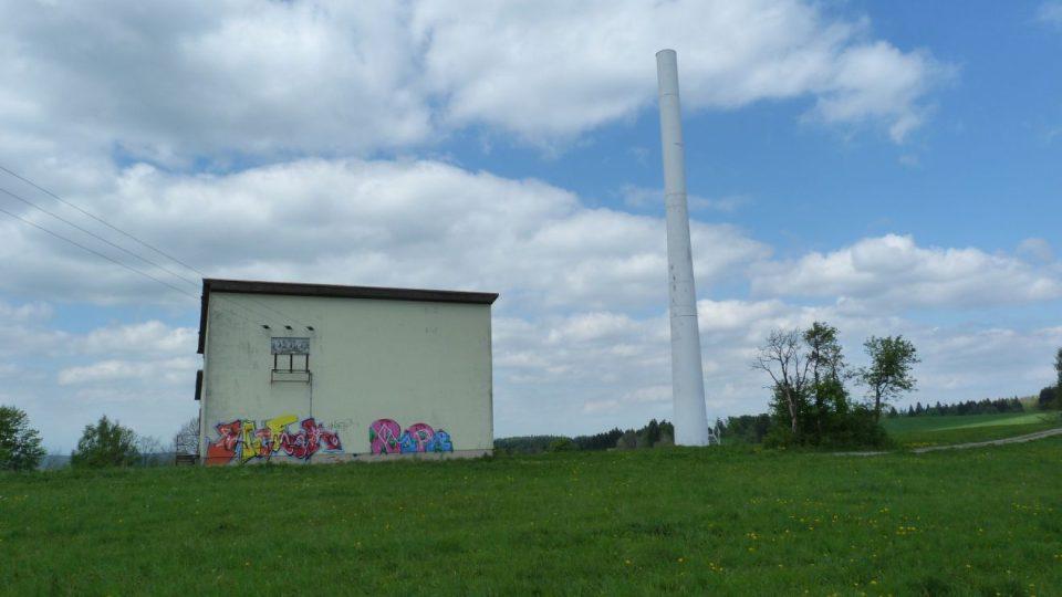 Z bývalé větrné elektrárny v Novém Hrádku na Náchodsku vznikne rozhledna