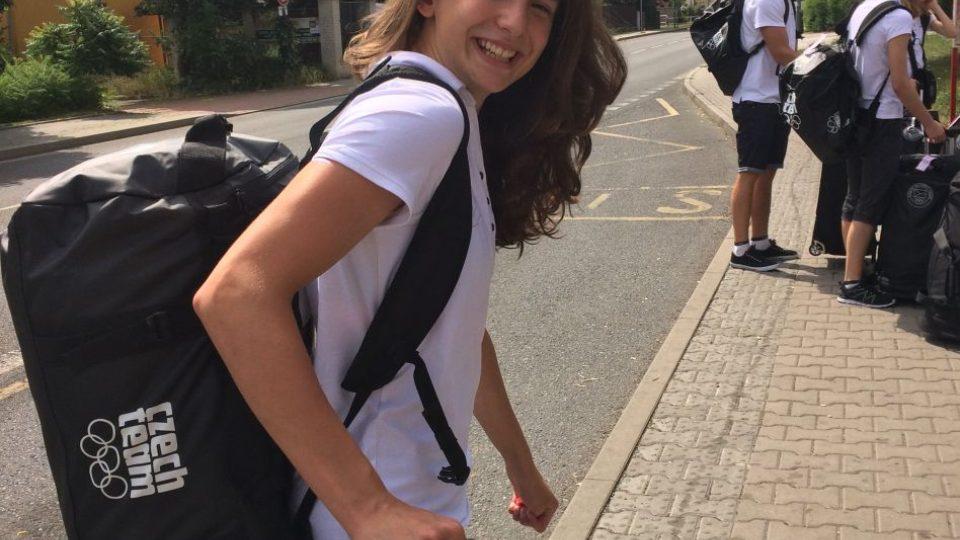 Čtrnáctiletá prsařka Lydie Štěpánková z Hradce Králové sbírá jeden úspěch za druhým