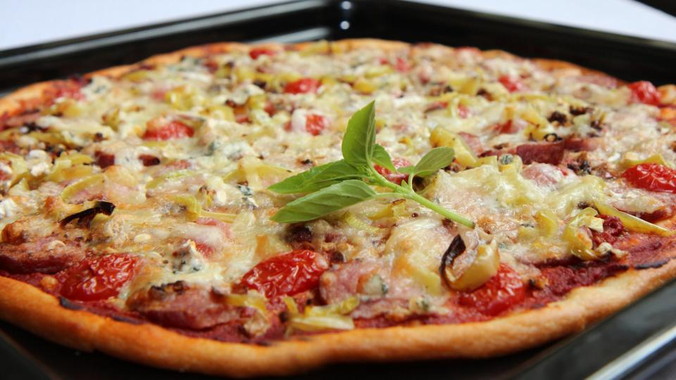 Pizza podle receptu Mirky Kuntzmannové