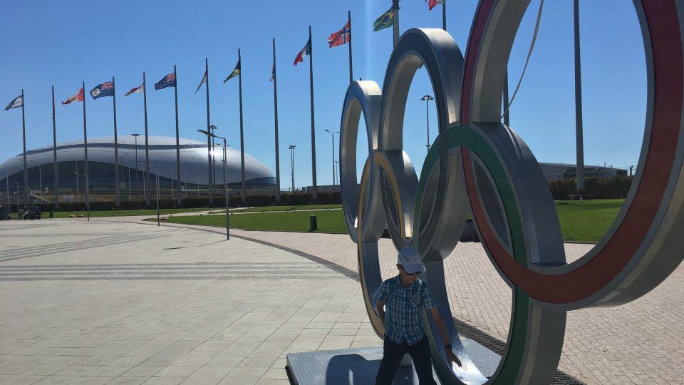 Olympijský park v Soči v roce 2017