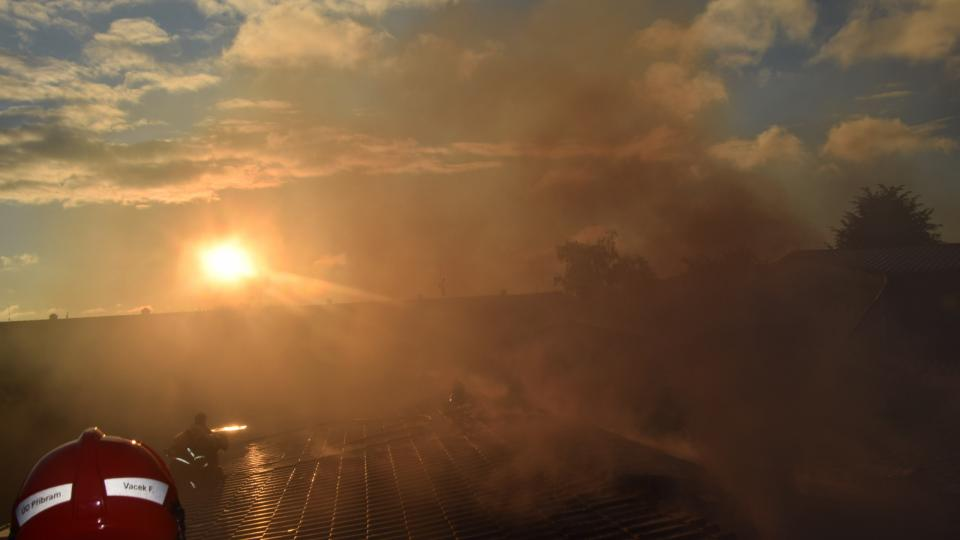 Požár v Bohutíně
