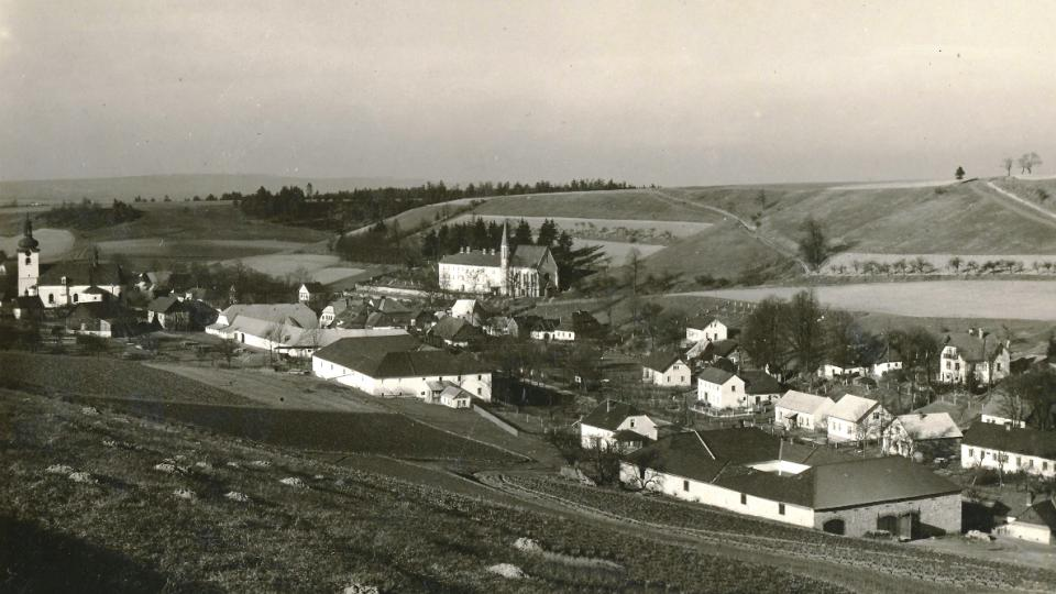 Pohled na Ketzelsdorf před válkou