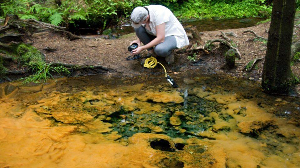 Měření kyslíku rozpuštěného ve vodě