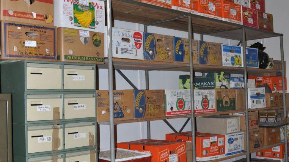 Stávající, nevyhovující uložení části sbírkových předmětů ve Valdštejnském paláci v Jičíně