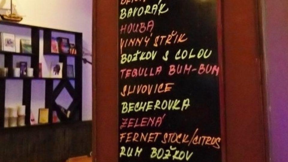 I nápojový lístek je typicky český