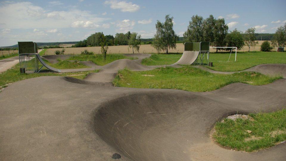 Pump Park v Horní Nové Vsi v Lázních Bělohrad