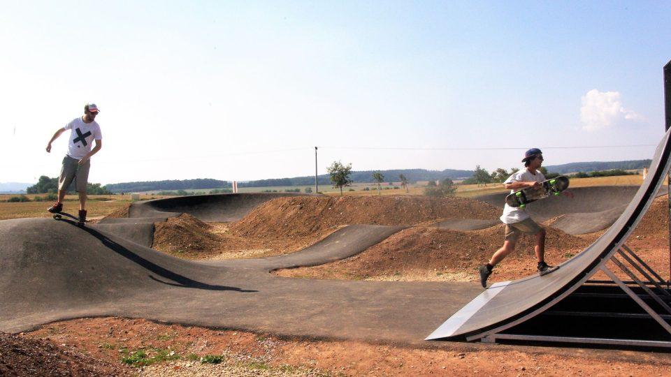 Pump Park v Horní Nové Vsi přináší radost z pohybu i respekt