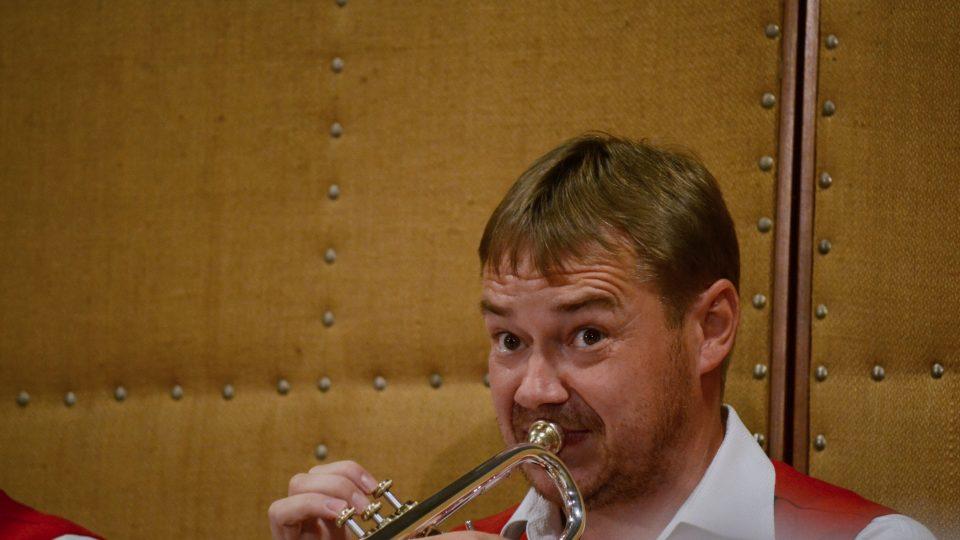 Trumpetista Zbyněk Bílek