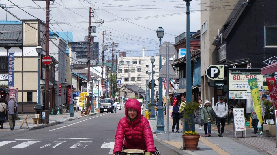 Přístavní město Otaru na ostrově Hokkaidó