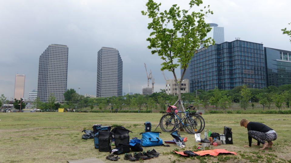 Tak se kempuje v Seoulu