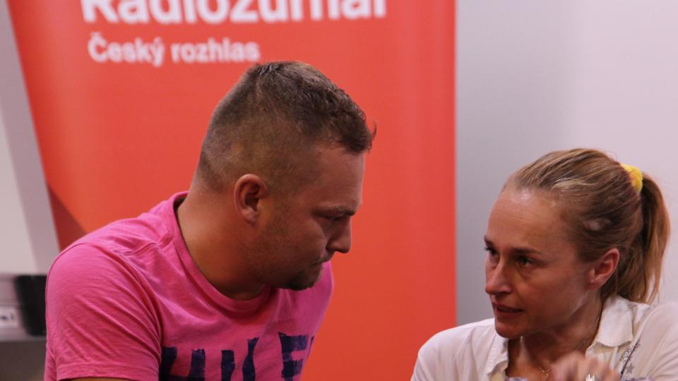 Patrik Hetmer a Lucie Výborná