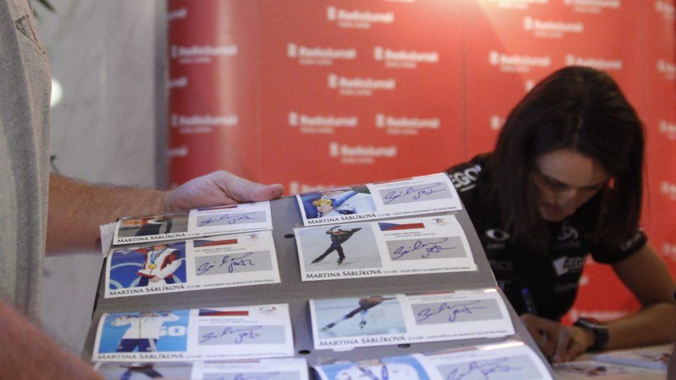 Autogramiáda k Olympijskému roku